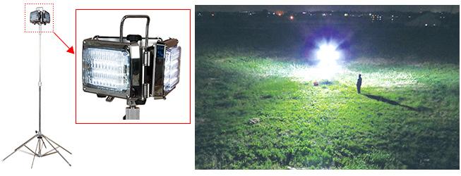 バルーン照明の用途と